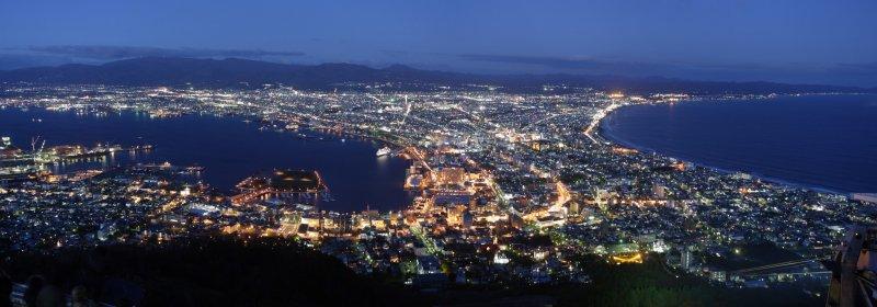 <p>函館山夜景</p>