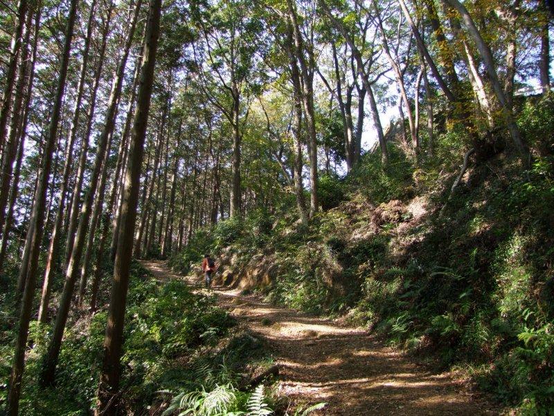<p>Approaching the summit of Mt. Takasashi</p>