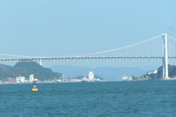 The Kanmonkyo Bridge which connects Yamaguchi and Fukuoka. The Kanmon Tunnel is the first undersea railway tunnel in the world