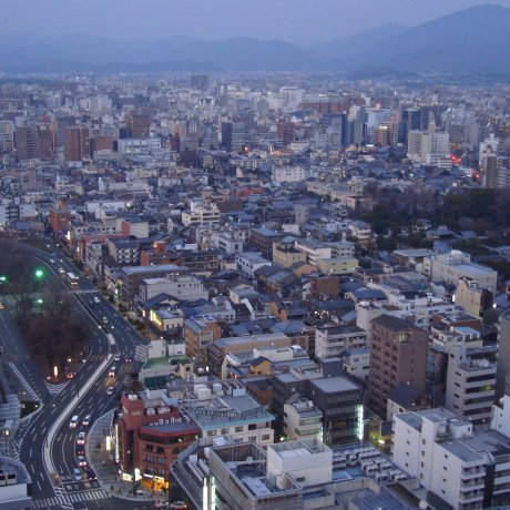 Enjoy the Views From Kyoto Tower