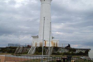 <p>The lighthouse on Cape Shiriya.</p>
