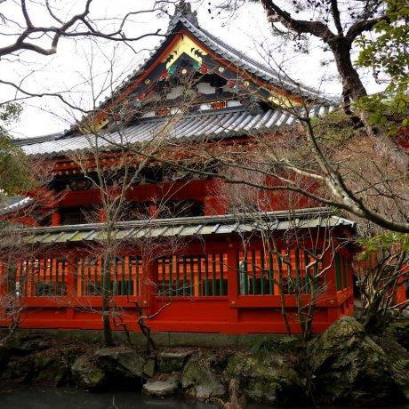 Năm Mới ở chùa Bishamondo
