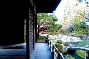 Innermost part of Soami-no-niwa