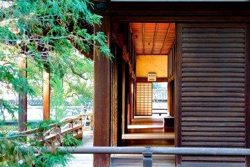 Templo Shoren-in, Quioto