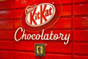 World's first KitKat Chocolatorycelebrated its grand opening on January 17, 2014 at Seibu Ikebukuro, Tokyo, Japan!
