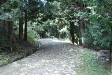 The Nakasendo at Ochiai Juku