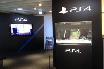 <p>The recently launched Playstation 4 gaming console has whole&nbsp;a floor dedicated to it, where you can try some game titles on high-definition screens.</p>
