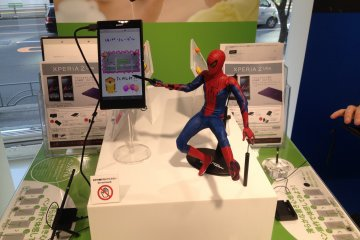 <p>The smartphone&nbsp;and phablet&nbsp;section has Spiderman to market the stylish&nbsp;pen function of the tablets.&nbsp;You can try and check all the gadgets and check the complete line-up of various gadgets.</p>