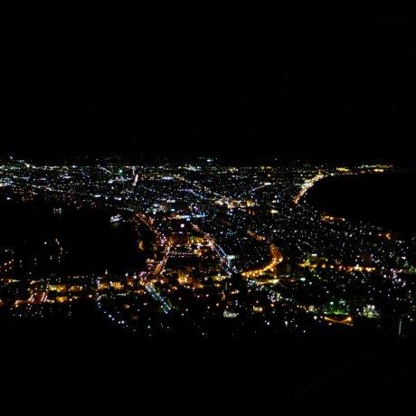 สุดยอดวิวระดับโลกบนยอดเขาฮาโกดาเตะ