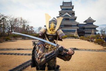 <p>A real-life samuri warrior!&nbsp;</p>