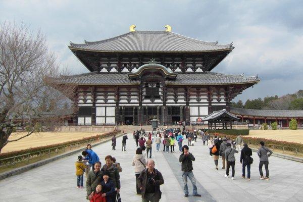 วิหารไดบุตสึเด็น วิหารไม้ที่ใหญ่ที่สุดในโลก
