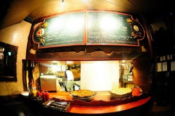 <p>Here there be pies: the serving hatch for pub grub</p>