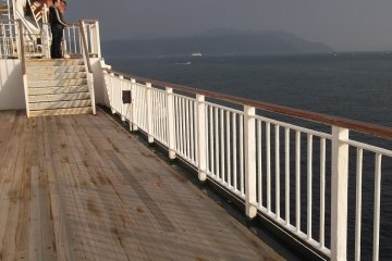 <p>The passenger deck</p>