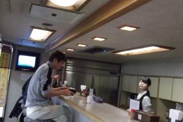 <p>The noodle bar</p>