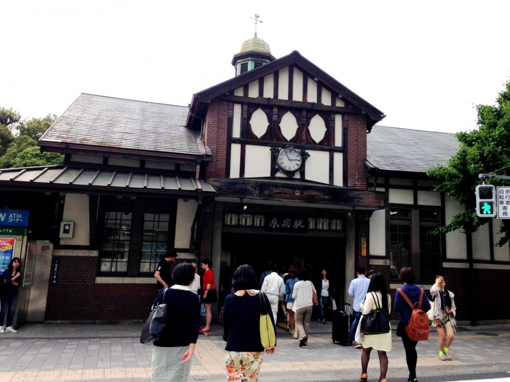 Ground Zero. Start from the historic 1906 Harajuku Station