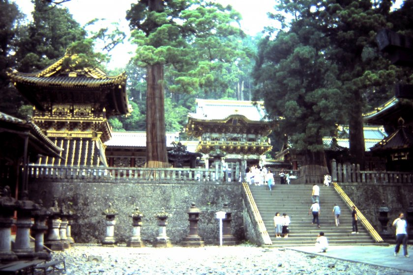 The Shinto shrine of Tōshō-gū that is famous for its beautiful shrine and statues. The most renowned is the three wise monkeys 'see no evil, hear no evil and speak no evil'.