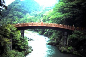 Shinkyo bridge is one of the three most unusual bridges of Japan