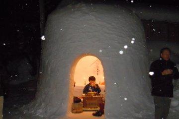 Les Monticules de Neige de Yokote
