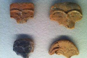 Таинственные лица из глины
