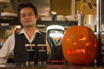 <p>The&nbsp;Caf&eacute; participates in community Halloween events</p>