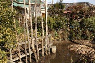 Pond of Blood, where Yoshitomo's head was washed...