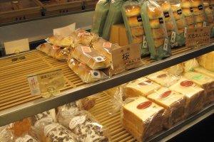 Roti tawar dan roti manis