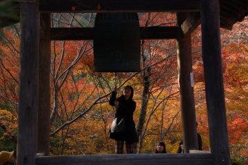 Ringing in the season in Kyoto