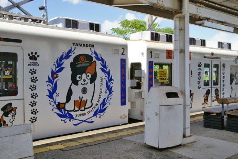 รถไฟสายน้องเหมียว Tama Train