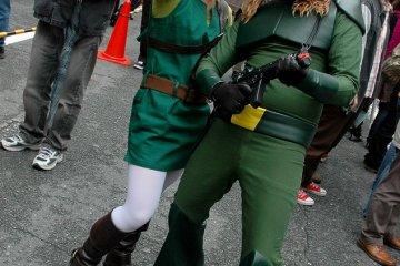 <p>Cosplayers at Nipponbashi Street Festa&nbsp;</p>
