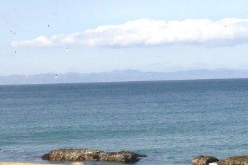 蓝色海洋节期间的大间港