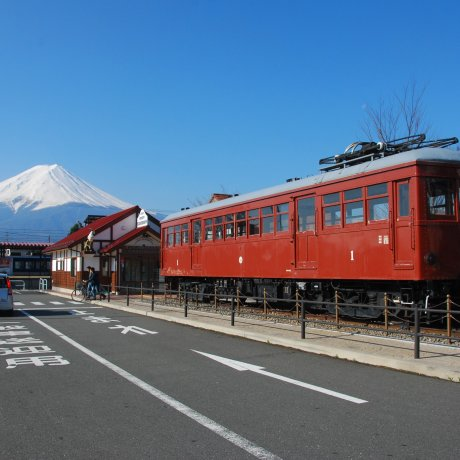 ชมภูเขาไฟฟูจิที่ Kawaguchiko
