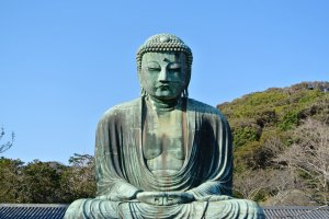 The Great Buddha (Daibutsu) of Kamakura