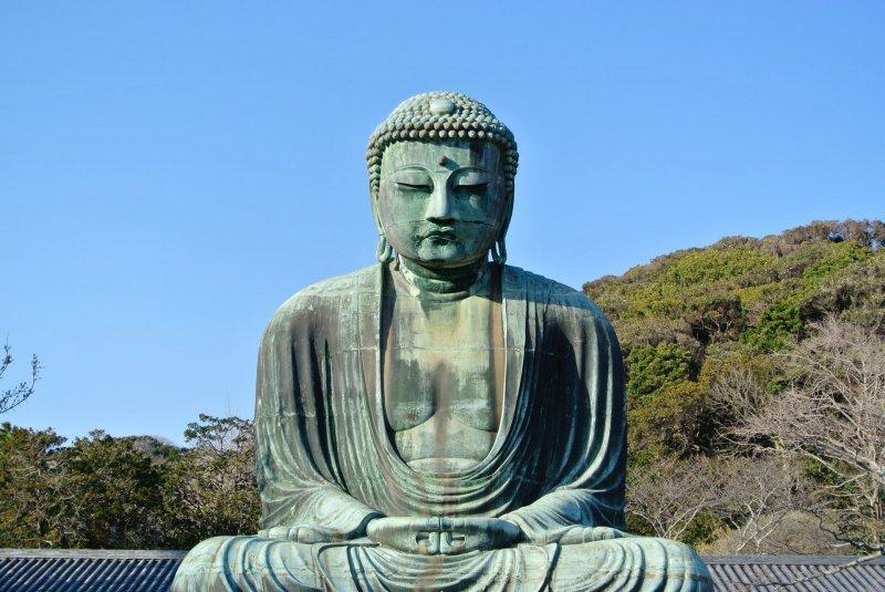 The Great Buddha (Daibutsu) of Kamakura
