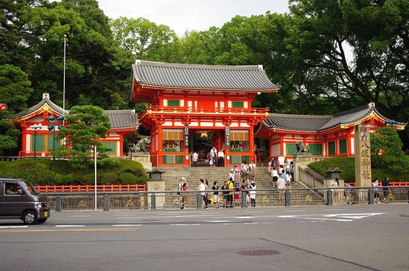 The shrine entrance