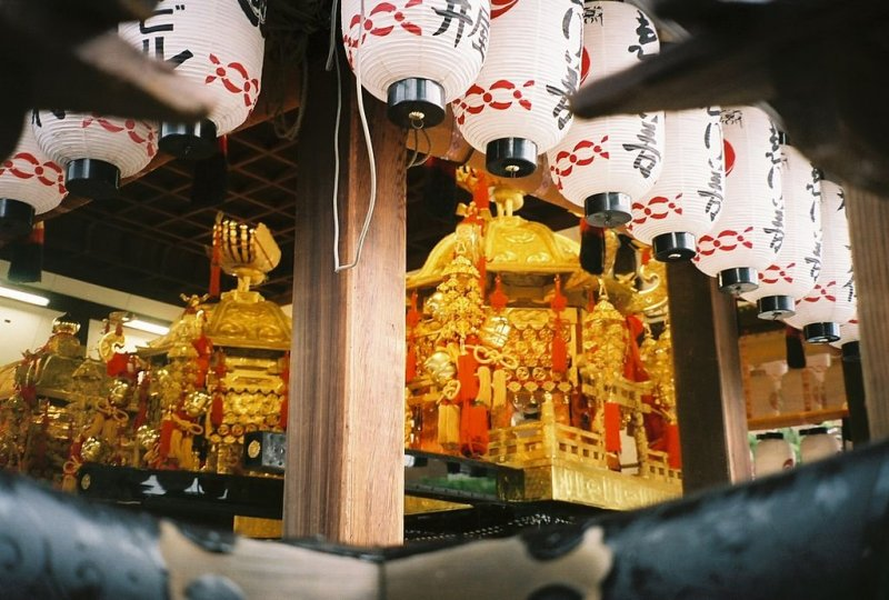 A beautiful mikoshi