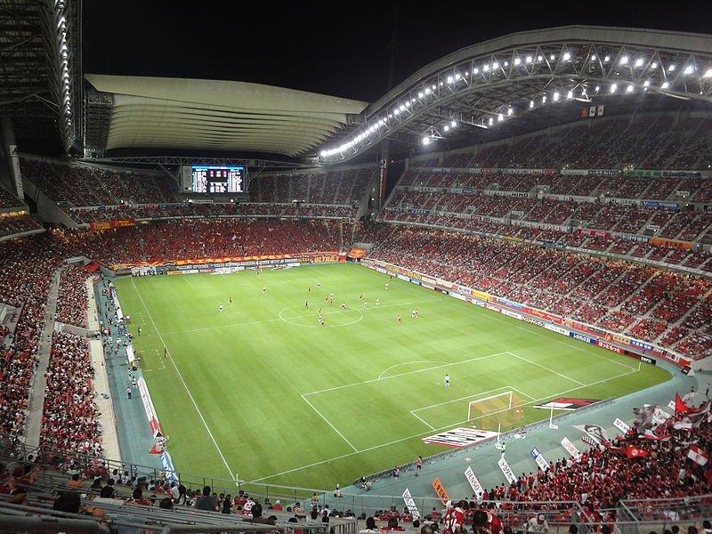 A game at Toyota Stadium