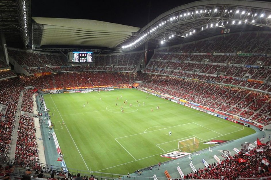 A game at Toyota Stadium