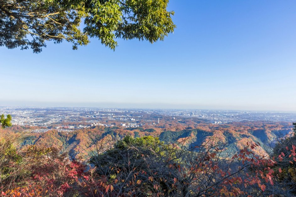 Summit of Mt Takao