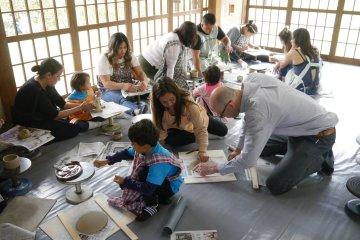 Hirashimizu Ceramics and Sake Experience