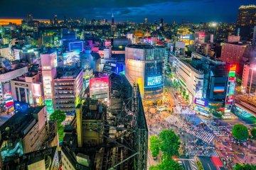 Shibuya By Night Virtual Tour (free Covid-19 test kit)
